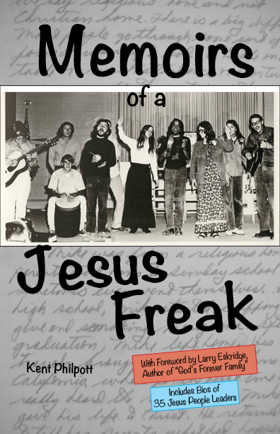 Memoirs of a Jesus Freak book cover