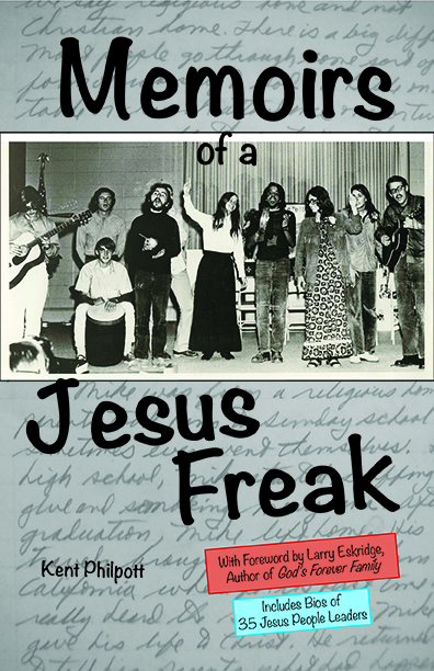Book cover for Memoirs of a Jesus Freak